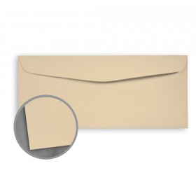 Loop Smooth Sandstone Envelopes - No. 10 Commercial (4 1/8 x 9 1/2) 70 lb Text Smooth  100% Recycled 500 per Box