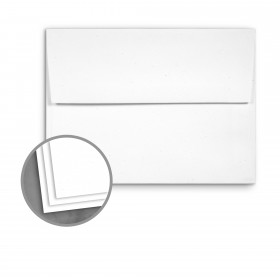 Loop Smooth Snow Envelopes - A2 (4 3/8 x 5 3/4) 70 lb Text Smooth  100% Recycled 250 per Box