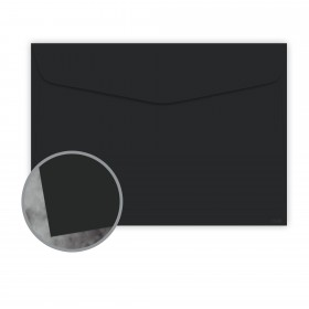 Manila File Black Envelopes - No. 6 1/2 Booklet (6 x 9) 70 lb Text Extra Smooth 500 per Carton