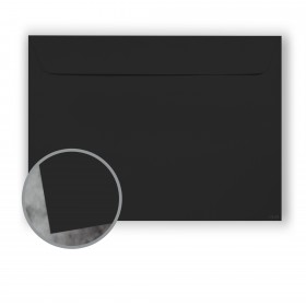 Manila File Black Envelopes - No. 9 1/2 Booklet (9 x 12) 70 lb Text Extra Smooth 500 per Carton