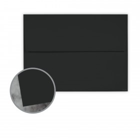 Manila File Black Envelopes - A7 (5 1/4 x 7 1/4) 70 lb Text Extra Smooth 250 per Box