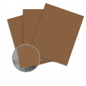 Manila File Brown Card Stock - 8 1/2 x 11 in 80 lb Cover Extra Smooth 25 per Package