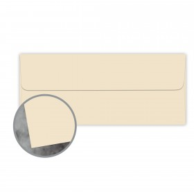 Manila File Buff Envelopes - No. 10 Square Flap (4 1/8 x 9 1/2) 70 lb Text Extra Smooth 500 per Box