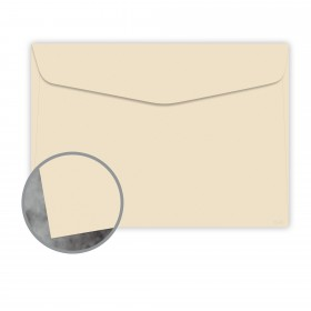 Manila File Buff Envelopes - No. 6 1/2 Booklet (6 x 9) 70 lb Text Extra Smooth 500 per Carton