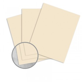 Manila File Buff Card Stock - 8 1/2 x 11 in 80 lb Cover Extra Smooth 25 per Package