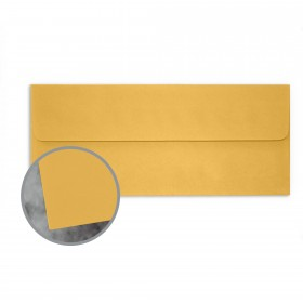 Manila File Gold Envelopes - No. 10 Square Flap (4 1/8 x 9 1/2) 70 lb Text Extra Smooth 500 per Box