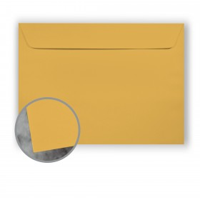 Manila File Gold Envelopes - No. 9 1/2 Booklet (9 x 12) 70 lb Text Extra Smooth 500 per Carton