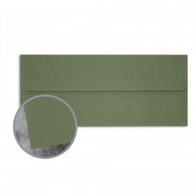 Manila File Green Envelopes - No. 10 Square Flap (4 1/8 x 9 1/2) 70 lb Text Extra Smooth 25 per Box