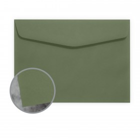 Manila File Green Envelopes - No. 6 1/2 Booklet (6 x 9) 70 lb Text Extra Smooth 500 per Carton