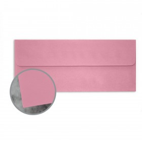 Manila File Mauve Envelopes - No. 10 Square Flap (4 1/8 x 9 1/2) 70 lb Text Extra Smooth 500 per Box
