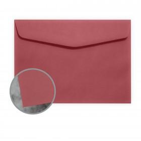 Manila File Red Envelopes - No. 6 1/2 Booklet (6 x 9) 70 lb Text Extra Smooth 500 per Carton