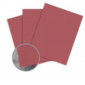 Manila File Red Card Stock - 8 1/2 x 11 in 80 lb Cover Extra Smooth 25 per Package