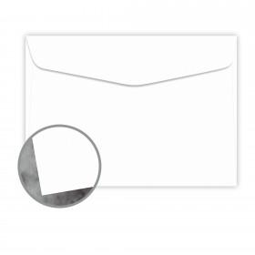 Manila File White Envelopes - No. 6 1/2 Booklet (6 x 9) 70 lb Text Extra Smooth 500 per Carton