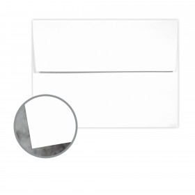 Manila File White Envelopes - A9 (5 3/4 x 8 3/4) 70 lb Text Extra Smooth 25 per Box