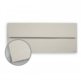 Keaykolour Cobblestone Envelopes - No. 10 Square Flap (4 1/8 x 9 1/2) 80 lb Text Vellum 500 per Box