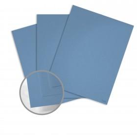 Keaykolour Azure Card Stock - 27 1/2 x 39 3/8 in 111 lb Cover Vellum 100 per Package