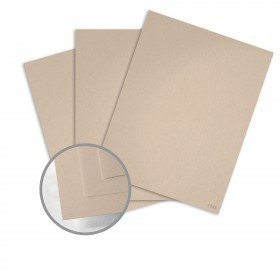 Keaykolour Biscuit Card Stock - 27 1/2 x 39 3/8 in 111 lb Cover Vellum 100 per Package