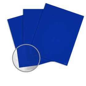 Keaykolour Royal Blue Card Stock - 27 1/2 x 39 3/8 in 111 lb Cover Vellum 100 per Package