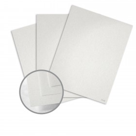 Keaykolour Snow White Card Stock - 27 1/2 x 39 3/8 in 111 lb Cover Vellum 100 per Package