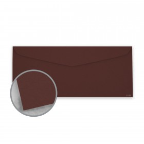 Keaykolour Port Wine Envelopes - No. 10 Commercial (4 1/8 x 9 1/2) 80 lb Text Vellum 500 per Box
