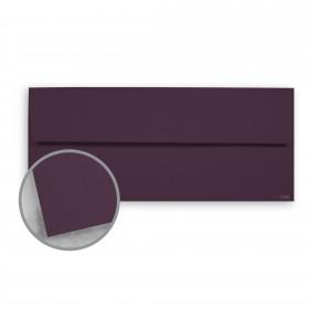 Keaykolour Prune Envelopes - No. 10 Square Flap (4 1/8 x 9 1/2) 80 lb Text Vellum 500 per Box