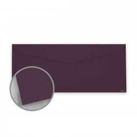 Keaykolour Prune Envelopes - No. 10 Commercial (4 1/8 x 9 1/2) 80 lb Text Vellum 500 per Box