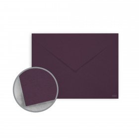 Keaykolour Prune Envelopes - No. 5 1/2 Baronial (4 3/8 x 5 3/4) 80 lb Text Vellum 250 per Box