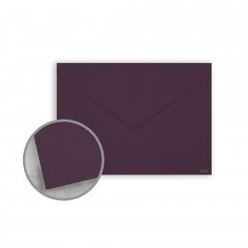 Keaykolour Prune Envelopes - Lee (5 1/4 x 7 1/4) 80 lb Text Vellum 250 per Box