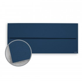 Keaykolour Royal Blue Envelopes - No. 10 Square Flap (4 1/8 x 9 1/2) 80 lb Text Vellum 500 per Box