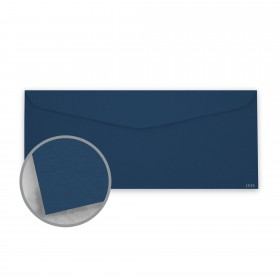 Keaykolour Royal Blue Envelopes - No. 10 Commercial (4 1/8 x 9 1/2) 80 lb Text Vellum 500 per Box