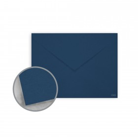 Keaykolour Royal Blue Envelopes - No. 6 Baronial (4 3/4 x 6 1/2) 80 lb Text Vellum 250 per Box