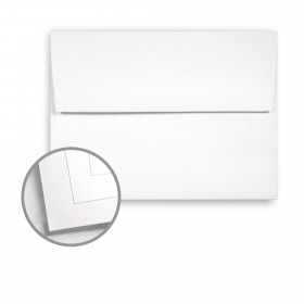 Navajo Brilliant White Envelopes - A7 (5 1/4 x 7 1/4) 70 lb Text Smooth 250 per Box