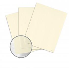 CLASSIC Woodgrain Bare White Card Stock - 26 x 40 in 80 lb Cover Woodgrain 300 per Carton