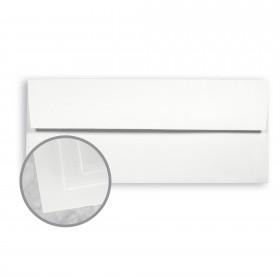 Neutech Cotton White  Envelopes - No. 10 Square Flap (4 1/8 x 9 1/2) 24 lb Writing Wove  25% Cotton Watermarked 500 per Box