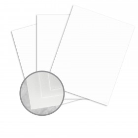 Neutech Cotton White Paper - 8 1/2 x 11 in 24 lb Writing Wove  25% Cotton Watermarked 500 per Ream