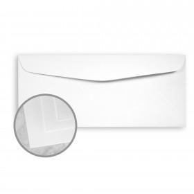 Neutech PS Pure White Envelopes - No. 10 Commercial (4 1/8 x 9 1/2) 24 lb Writing Wove  25% Cotton Watermarked 2500 per Carton