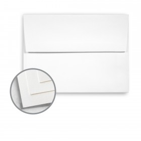 Options Crystal White Envelopes - A2 (4 3/8 x 5 3/4) 70 lb Text Vellum 250 per Box