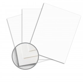 Options Crystal White Paper - 25 x 38 in 100 lb Text Vellum 750 per Carton