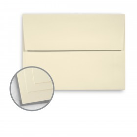 Options 100% PC Cream White Envelopes - A8 (5 1/2 x 8 1/8) 70 lb Text Smooth  100% Recycled 250 per Box
