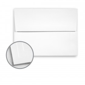 Options 100% PC White Envelopes - A6 (4 3/4 x 6 1/2) 70 lb Text Smooth  100% Recycled 250 per Box