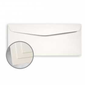 OXFORD Cream Envelopes - No. 10 Commercial (4 1/8 x 9 1/2) 80 lb Text Texture  30% Recycled 500 per Box