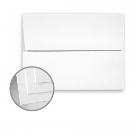 OXFORD White Envelopes - A6 (4 3/4 x 6 1/2) 80 lb Text Texture  30% Recycled 1000 per Carton