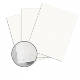 Paper Tyger White Card Stock - 8 1/2 x 11 in 74 lb Cover Smooth 250 per Package