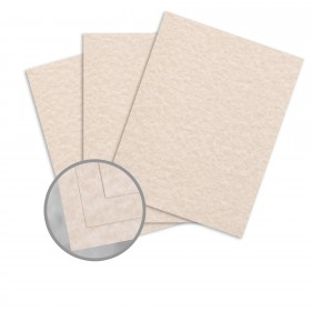 Parchtone Aged Card Stock - 26 x 40 in 80 lb Cover Semi-Vellum 500 per Carton
