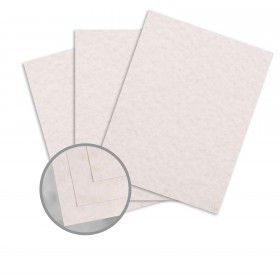 Parchtone Natural Card Stock - 8 1/2 x 11 in 65 lb Cover Semi-Vellum 250 per Package