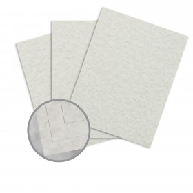 Parchtone Sage Card Stock - 8 1/2 x 11 in 65 lb Cover Semi-Vellum 250 per Package