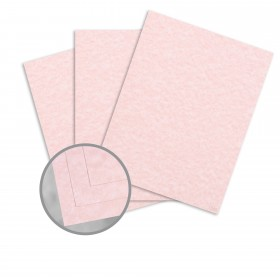 Parchtone Salmon Paper - 8 1/2 x 11 in 60 lb Text Semi-Vellum 500 per Package