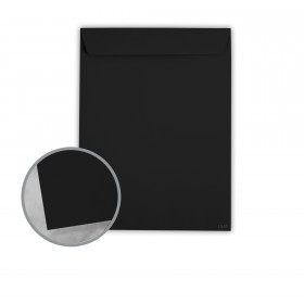 Plike Black Envelopes - No. 10 1/2 Catalog (9 x 12) 95 lb Text Smooth C/2S 400 per Box