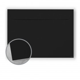 Plike Black Envelopes - No. 9 1/2 Booklet (9 x 12) 95 lb Text Smooth C/2S 400 per Box