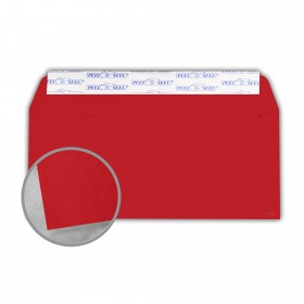 Plike Red Envelopes - No. 10 Commercial Peel & Seal (4 1/8 x 9 1/2) 95 lb Text Smooth C/2S 400 per Box